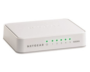 Netgear 5 Port Gigabit Switch (plastic case)