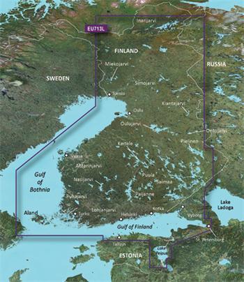 BlueChart G2 Vision - EU713L /Fínsko/ LARGE