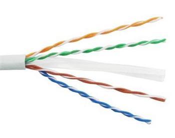 PremiumCord TP Kabel 4x2,drát UTP Cat6 AWG23,čistá měď 305m