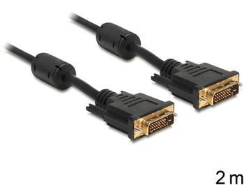Delock připojovací kabel DVI-D 24+1 samec > samec 2 m