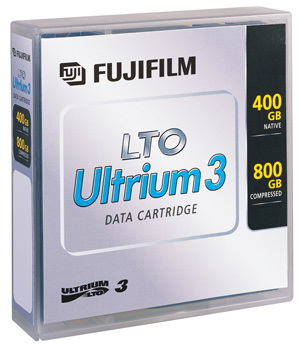 LTO-3 CR media, 5pack random label, Fuji