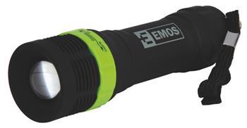 Emos LED svítilna HL-PF0246, 1W LED, fokus, IP43, 3x AAA