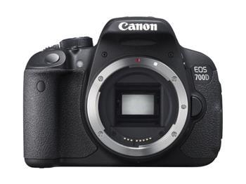 Canon EOS 700D Black body - 18 MP , dotykový 3