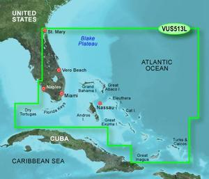 BlueChart G2 Vision - US513L- Jacksonville - Bahamas/LARGE