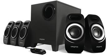 Creative repro Inspire T6300 5.1, 54W, černé