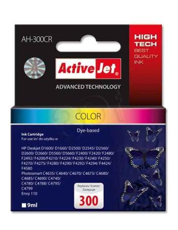 ActiveJet Ink cartridge HP CC643EE Premium 300 Color - 9 ml AH-300CR