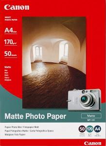 Canon fotopapír MP-101 - A4 - 170g/m2 - 5 listů - matný