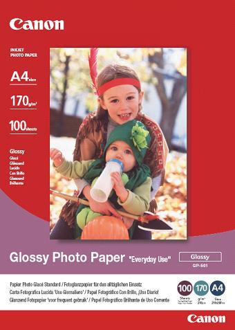 Canon fotopapír GP-501 - A4 - 5 listů - lesklý