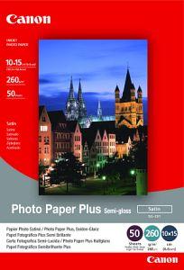 Canon fotopapír SG-201 - 10x15cm (4x6inch) - 260g/m2 - 5 listů - pololesklý