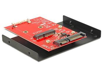 Delock adaptér SATA 22 pin > mSATA s 3.5
