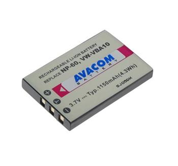 Náhradní baterie Fujifilm NP-60, Kodak KLIC-5000, Olympus LI-20B, Samsung SLB-1037, SLB-1137 Li-ion 3.7V 1150mAh 4.1Wh