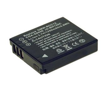 Náhradní baterie AVACOM Panasonic CGA-S005, Samsung IA-BH125C, Ricoh DB-60, Fujifilm NP-70 Li-ion 3.7V 1110mAh 4.3Wh NE