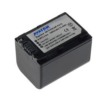 Náhradní baterie AVACOM Sony NP-FV70 Li-ion 6.8V 1960mAh 13Wh verze 2011