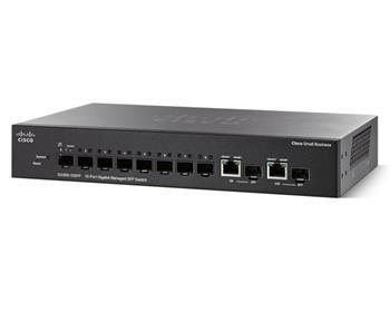 Cisco SG 300-10SFP 10x Gigabit Managed SFP Switch