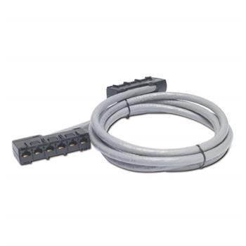 APC Data Distribution Cable, CAT5e UTP CMR Gray, 6xRJ-45 Jack to 6xRJ-45 Jack, 9ft (2,7m)