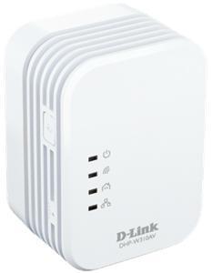 D-link PowerLine AV 500 Wireless N Mini Extender, QoS, Common Connect Button, WPS