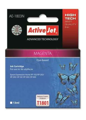 ActiveJet ink cartr. Eps T1803/T1813 Magenta 100% NEW - 13 ml AE-1813N