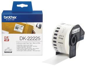 Brother - DK 22225 (papírová role 38mm) š x d: 38mm x 30,48m