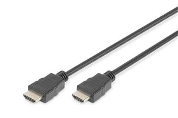Digitus HDMI High Speed + Ethernet připojovací kabel, 2xstíněný, 5m