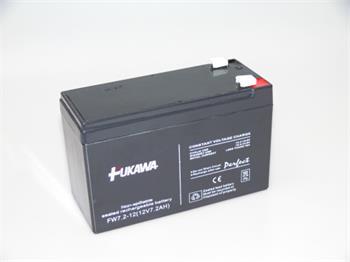 akumulátor FUKAWA FW7.2-12(28W)_187 (12V/7,2 Ah - Faston 187) SLA baterie