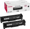 Canon CRG 718 2Pack Black Toner 2x3.4k pages