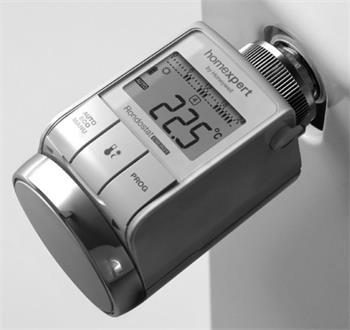 Homexpert termostatická hlavice digitální HR25, programovatelná
