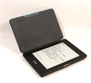 C-TECH PROTECT pouzdro pro Kindle PAPERWHITE s funkcí WAKE/SLEEP, hardcover, AKC-05, černé