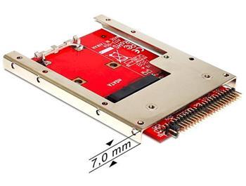Delock adaptér IDE 44 pin na mSATA s 2,5