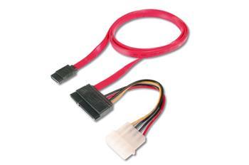 Digitus SATA combo kabel 1m