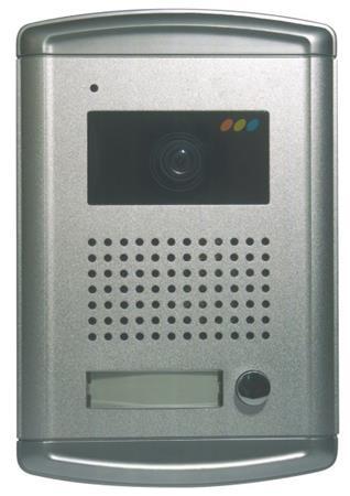Emos dveřní kamera H1122, barevná, 1 tlačítko