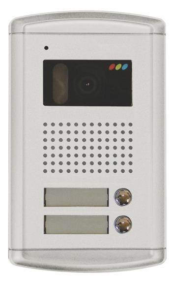 Emos dveřní kamera H1120, barevná, 2 tlačítka