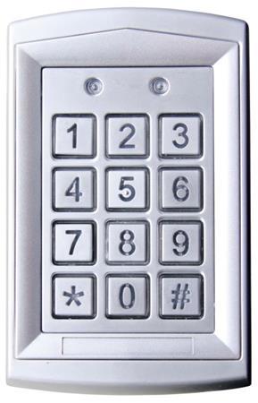 Emos kódová klávesnice DH16A-10T, kovová