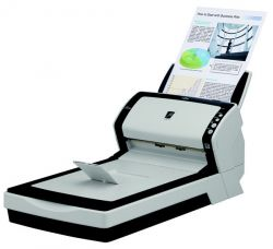 Fujitsu fi-7280, A4, duplex, 160 ipm, color, flatbed, ultrazvuk, ADF 80