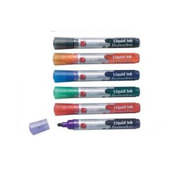 Popisovač NOBO 3-in-1 LIQUID INK tenký, mix