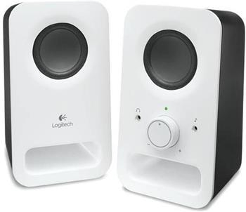 Logitech reproduktory Z150 2.0, bílé