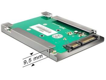Delock adaptér SATA 22 pin > mSATA s 2.5