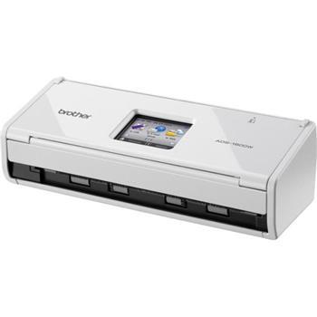 Brother ADS-1600W oboustranný skener dokumentů, až 36 str/min, 600 x 600 dpi, 256 MB, ADF, WiFi, USB host, dotyk. LCD