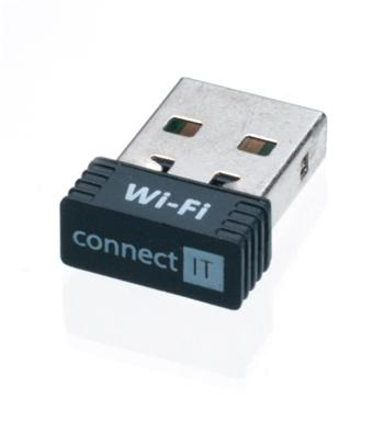 CONNECT IT Wi-Fi USB nano adaptér