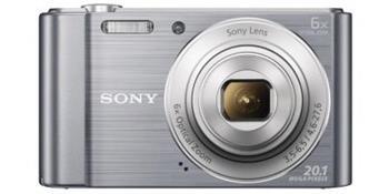 SONY DSC-W810S 20,1 MP, 6x zoom, 2,7