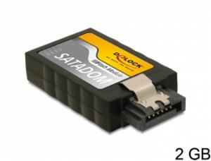 Delock SATA 3 Gb/s Flash Module 2 GB vertical
