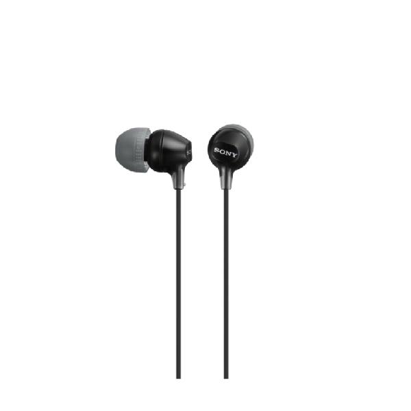 SONY MDR-EX15LP - Sluchátka do uší - Black