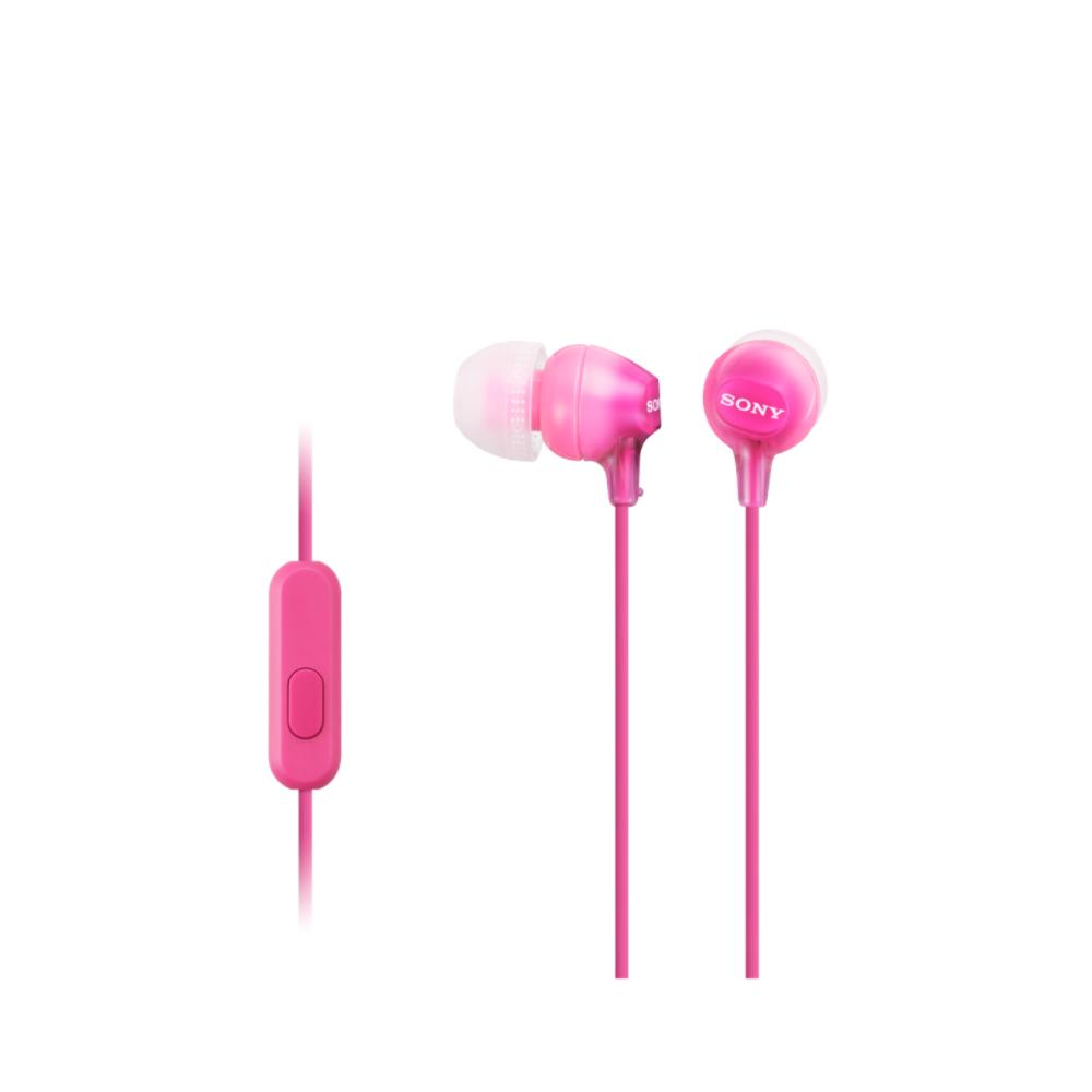 SONY MDR-EX15AP - Sluchátka do uší s mikrofonem - Pink