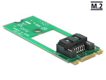 Delock adaptér M.2 NGFF > SATA 7 pin