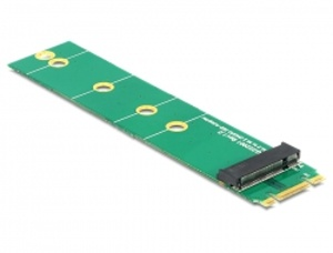 Delock Adaptér M.2 NGFF key B+M samec > M.2 NGFF key B slot port saver