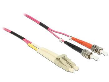 Delock optický kabel LC / ST Multimode OM4. 2 m