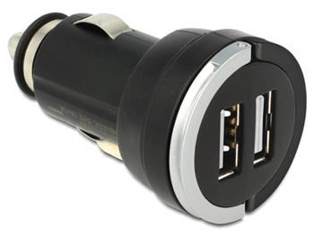 Navilock DC auto adaptér 2 x USB A 3,1 A