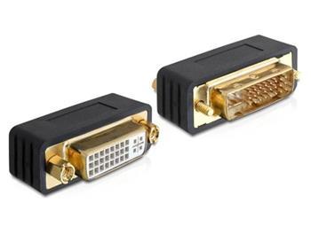Delock adapter DVI 24+5 samec - samice