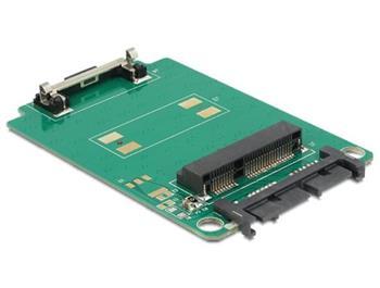 Delock adaptér Micro SATA 16 pin na mSATA full size
