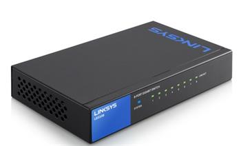 Linksys SMB switch LGS108 8-port Gigabit