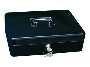 Přenosná pokladna WEDO 250, černá